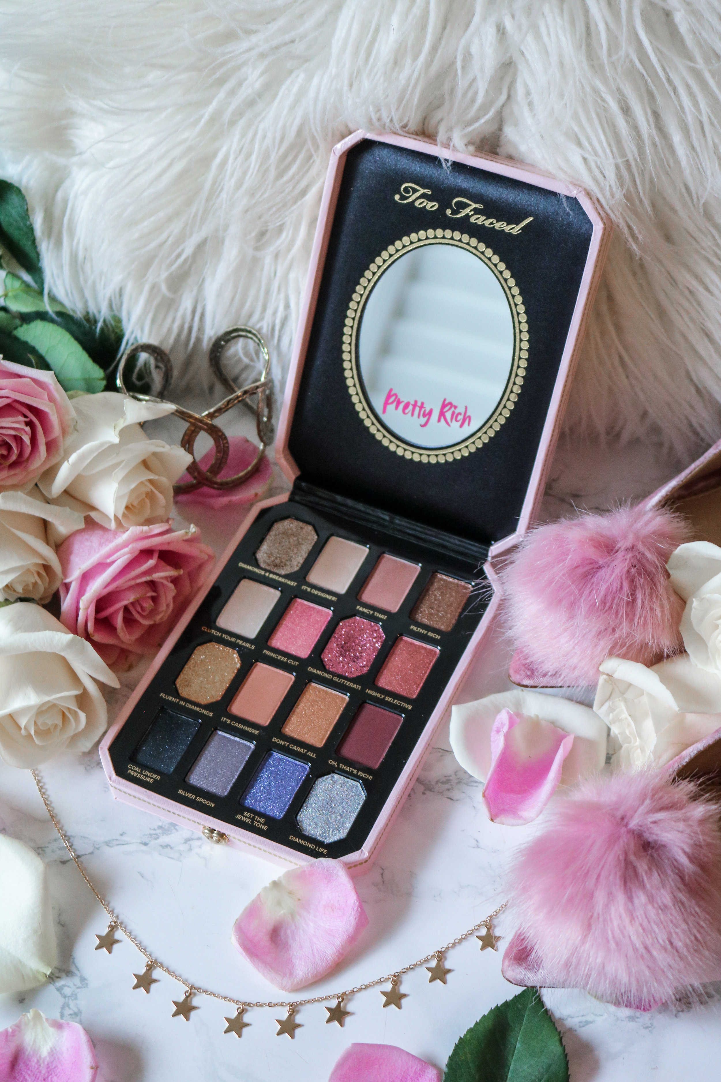 The Hungarian Brunette Too Faced Pretty Rich Palette review (3 of 5).jpg