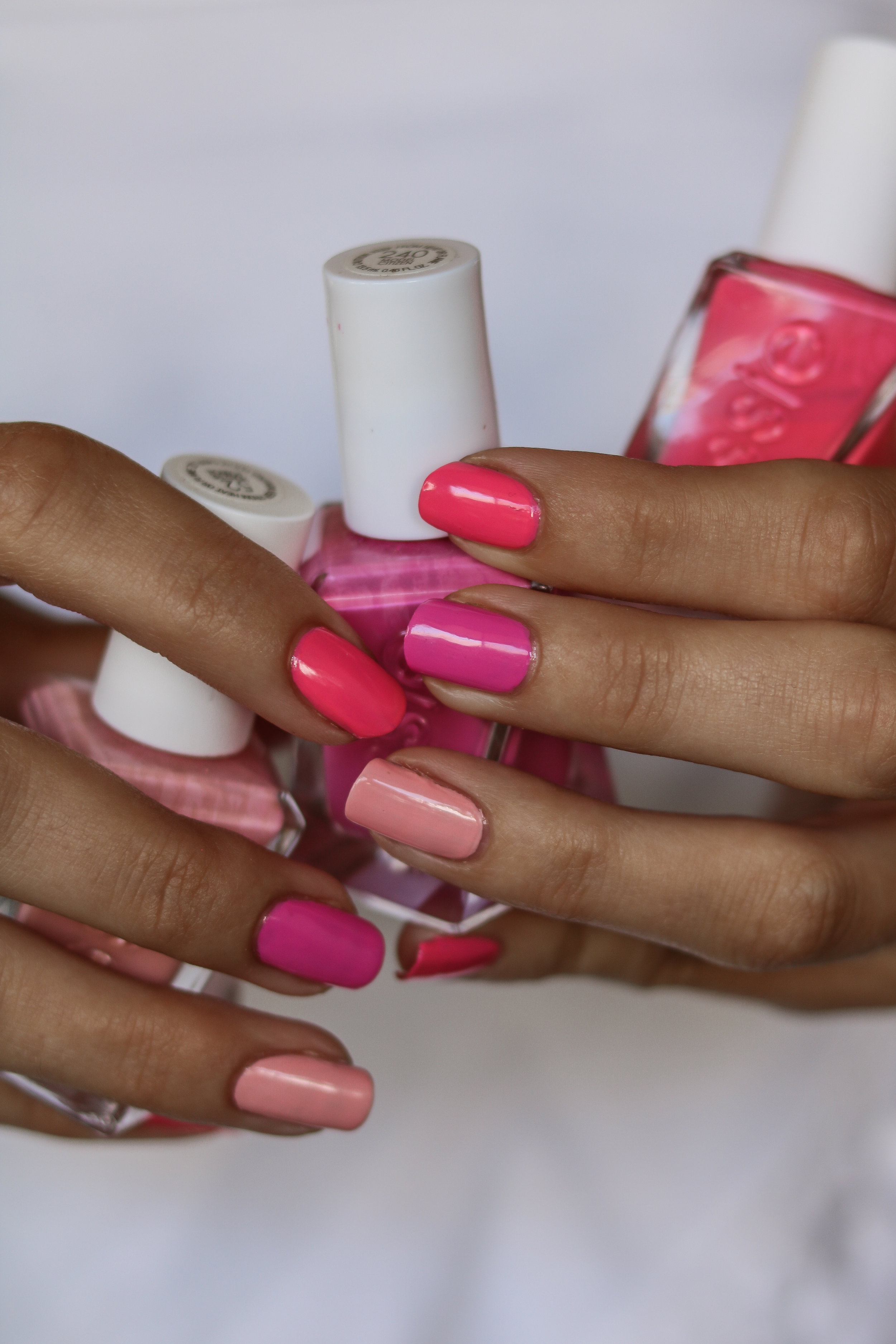 The Hungarian Brunette Pink multi shade nails (1 of 7).jpg