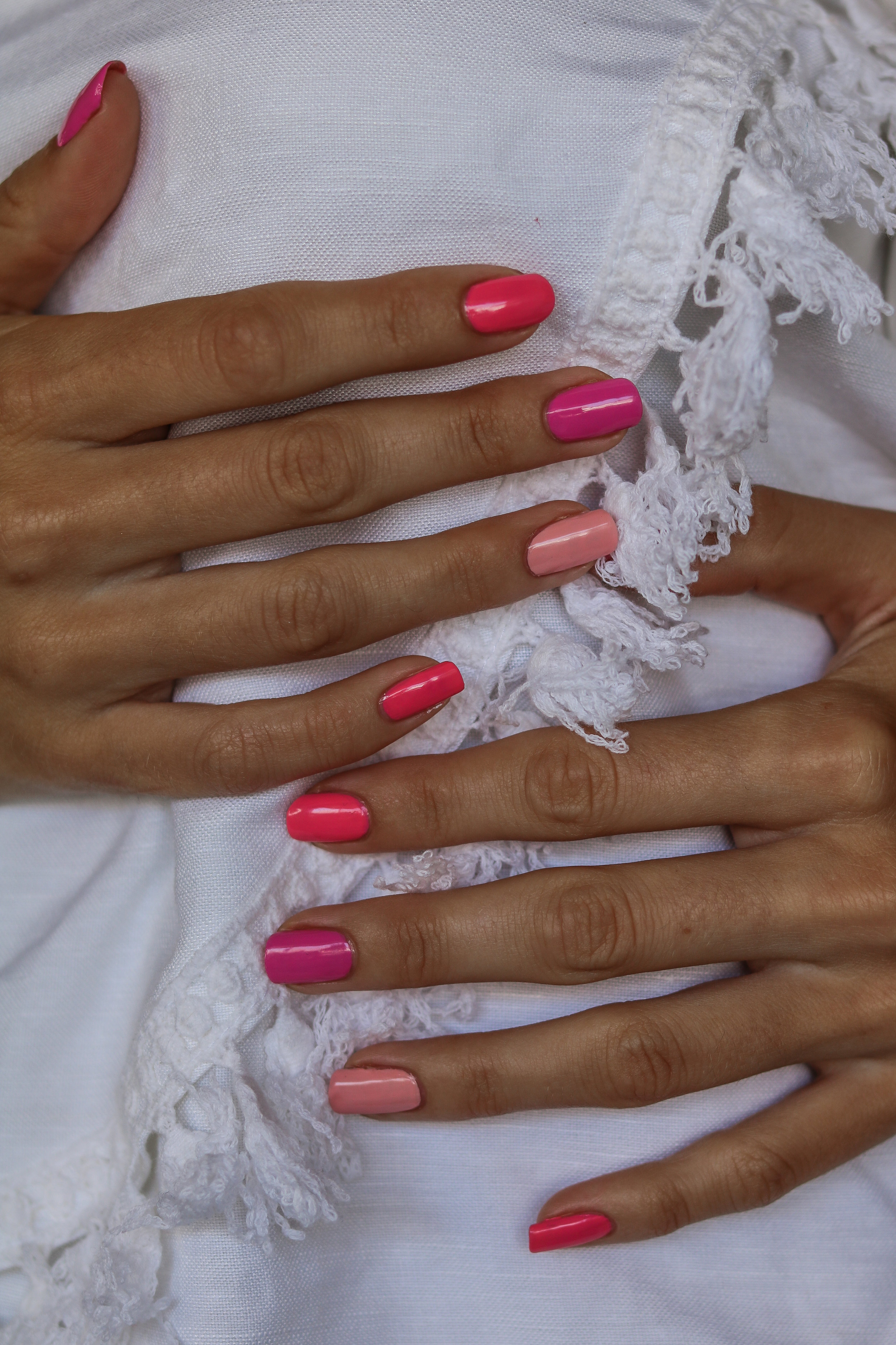 The Hungarian Brunette Pink multi shade nails (4 of 7).jpg