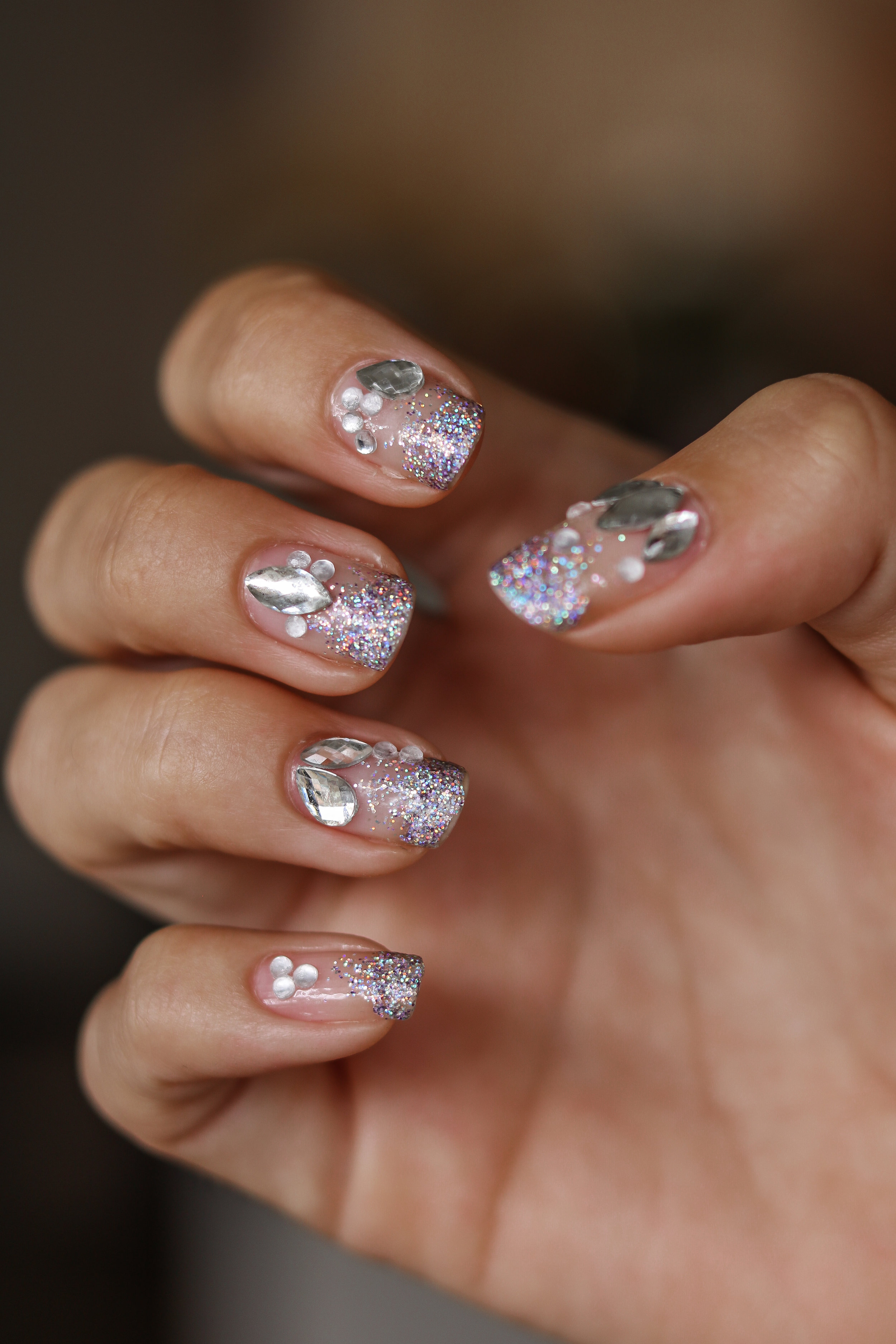 The Hungarian Brunette Negative space crystal nail art with holo glitter ombre (10 of 12).jpg