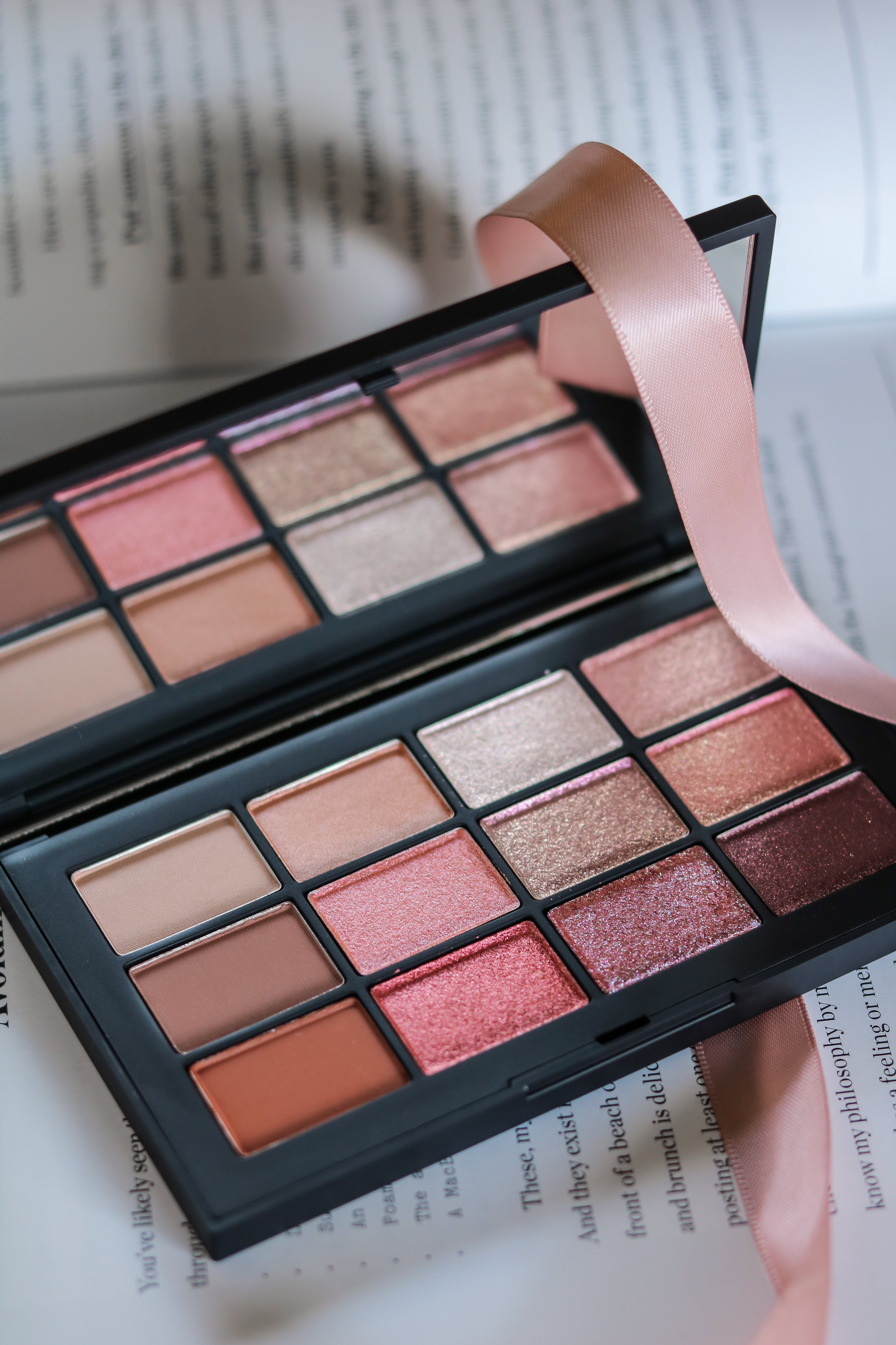The Hungarian Brunette - Nars Ignited eyeshadow palette review and swatches