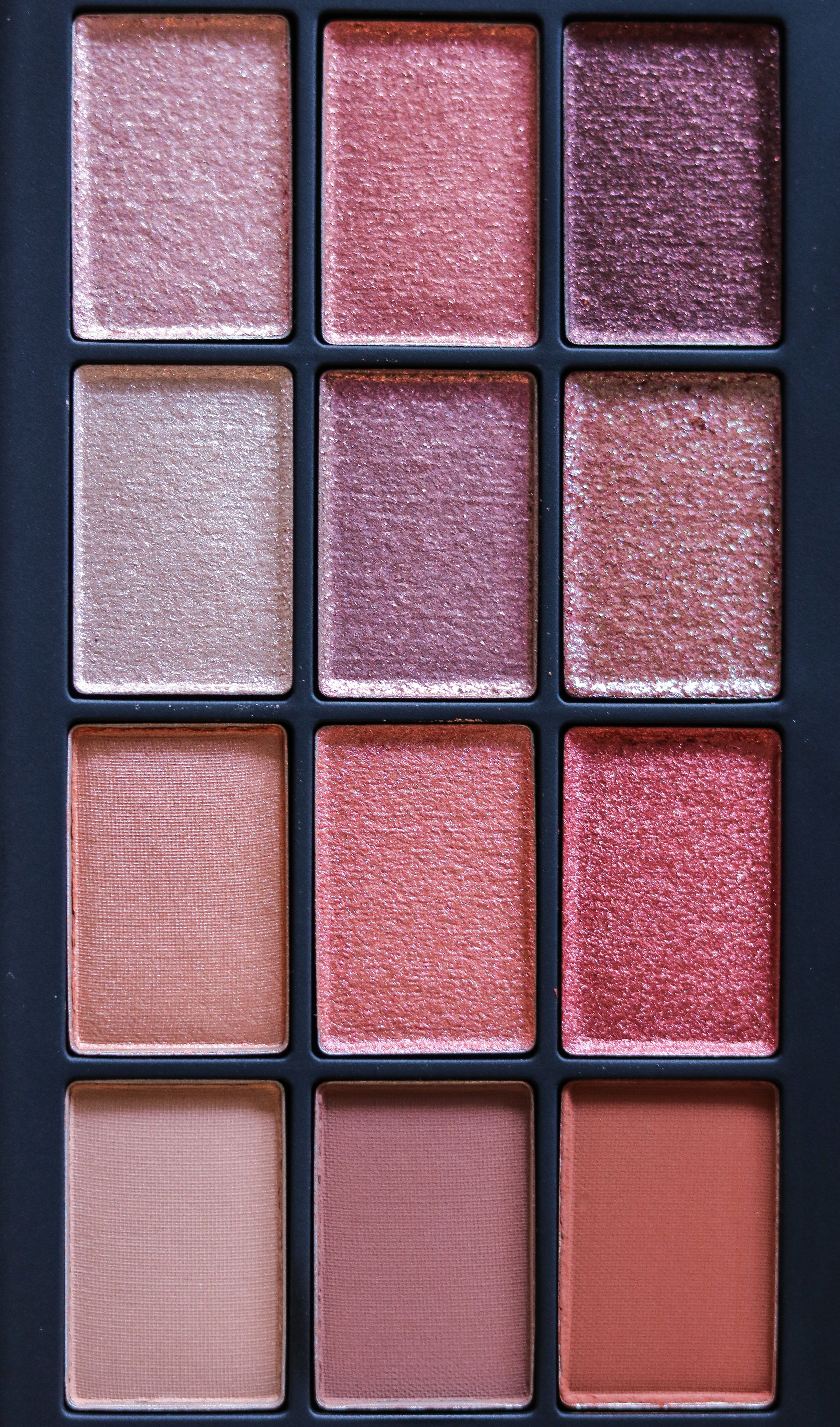 The Hungarian Brunette Nars Ignited eyeshadow palette review and swatches