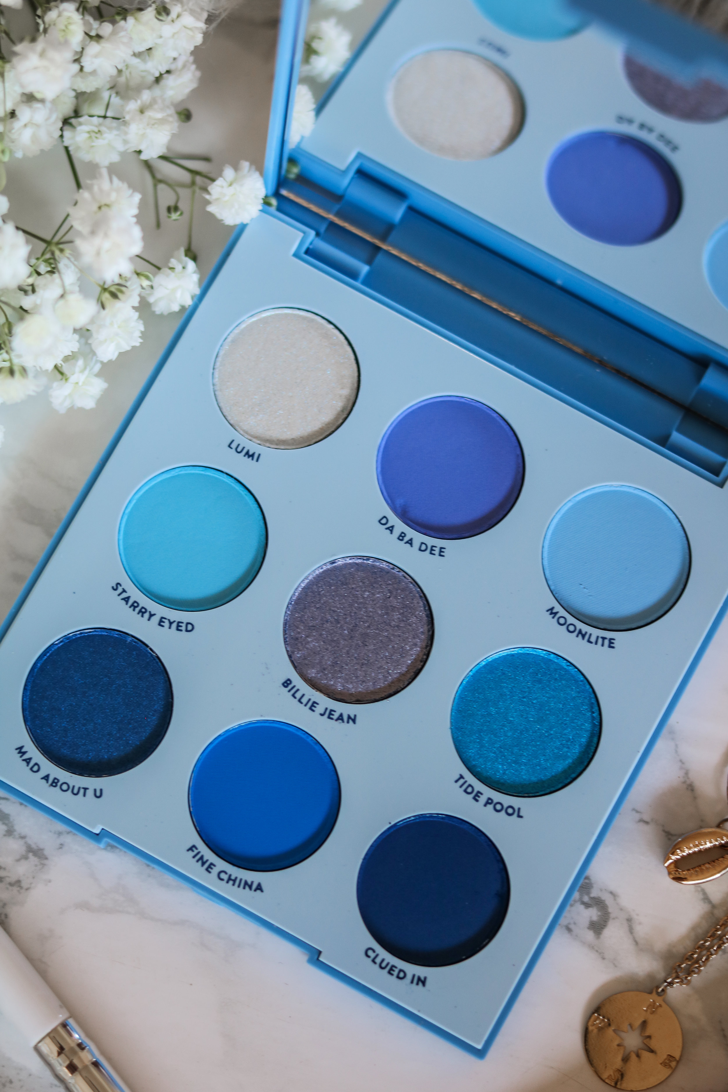 The Hungarian Brunette Colourpop Cosmetics Blue moon and it's my pleasure eyeshadow palette review and swatches - Purple palette + Blue palette (5 of 9).jpg