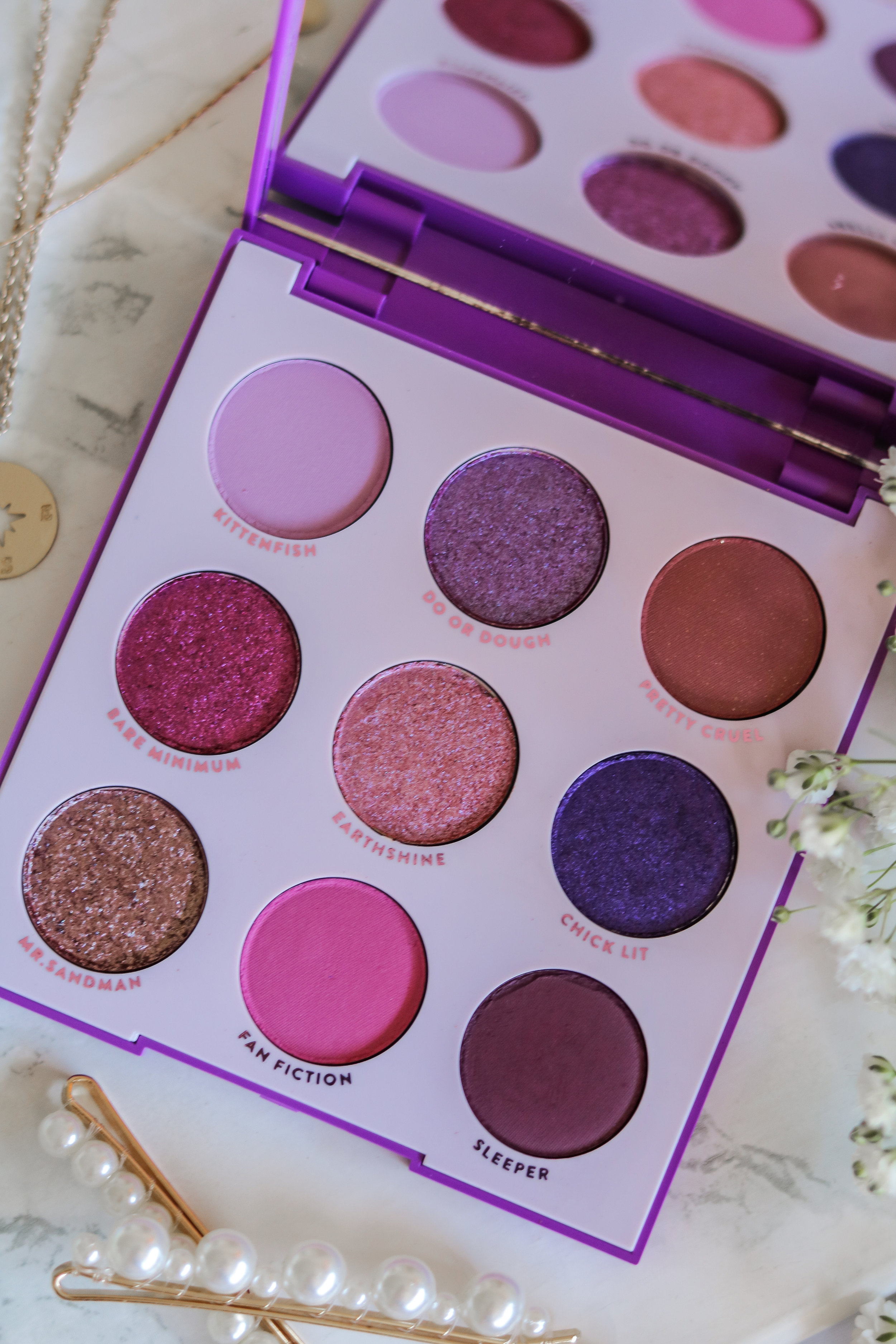 The Hungarian Brunette Colourpop Cosmetics Blue moon and it's my pleasure eyeshadow palette review and swatches - Purple palette + Blue palette (6 of 9).jpg