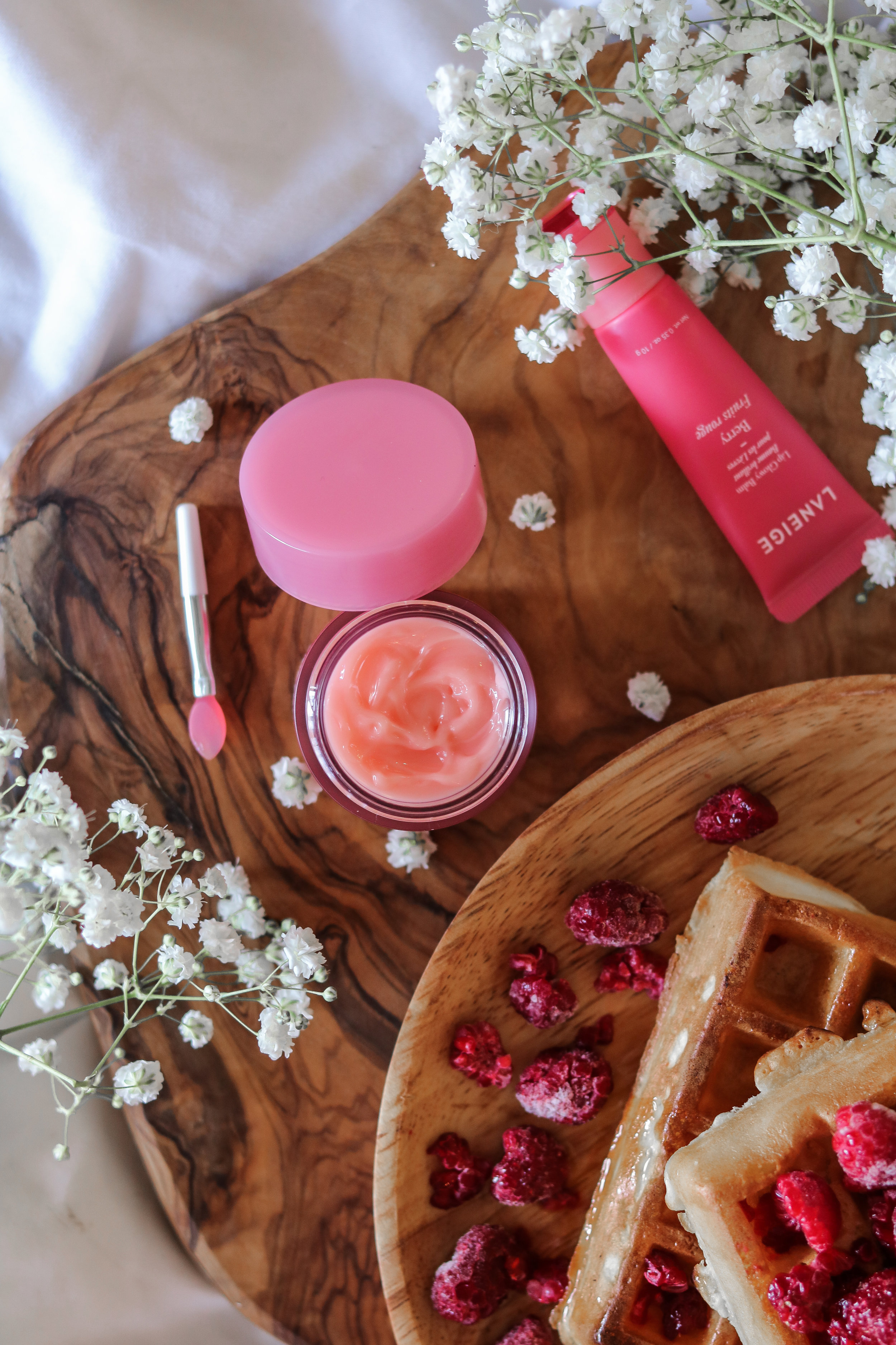 The Hungarian Brunette Laneige lip sleeping mask review