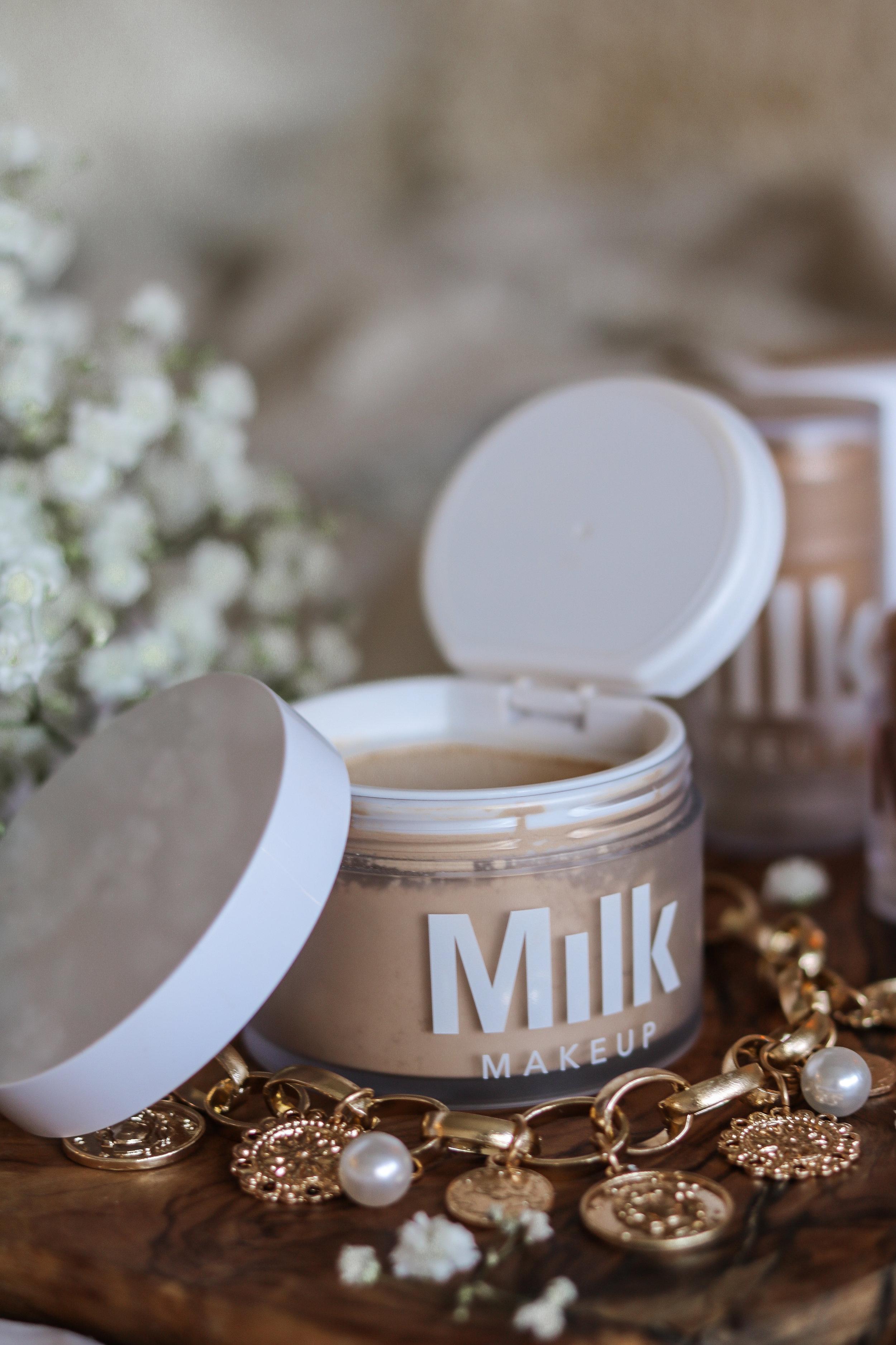 The Hungarian Brunette Milk Makeup blur + set matte loose setting powder