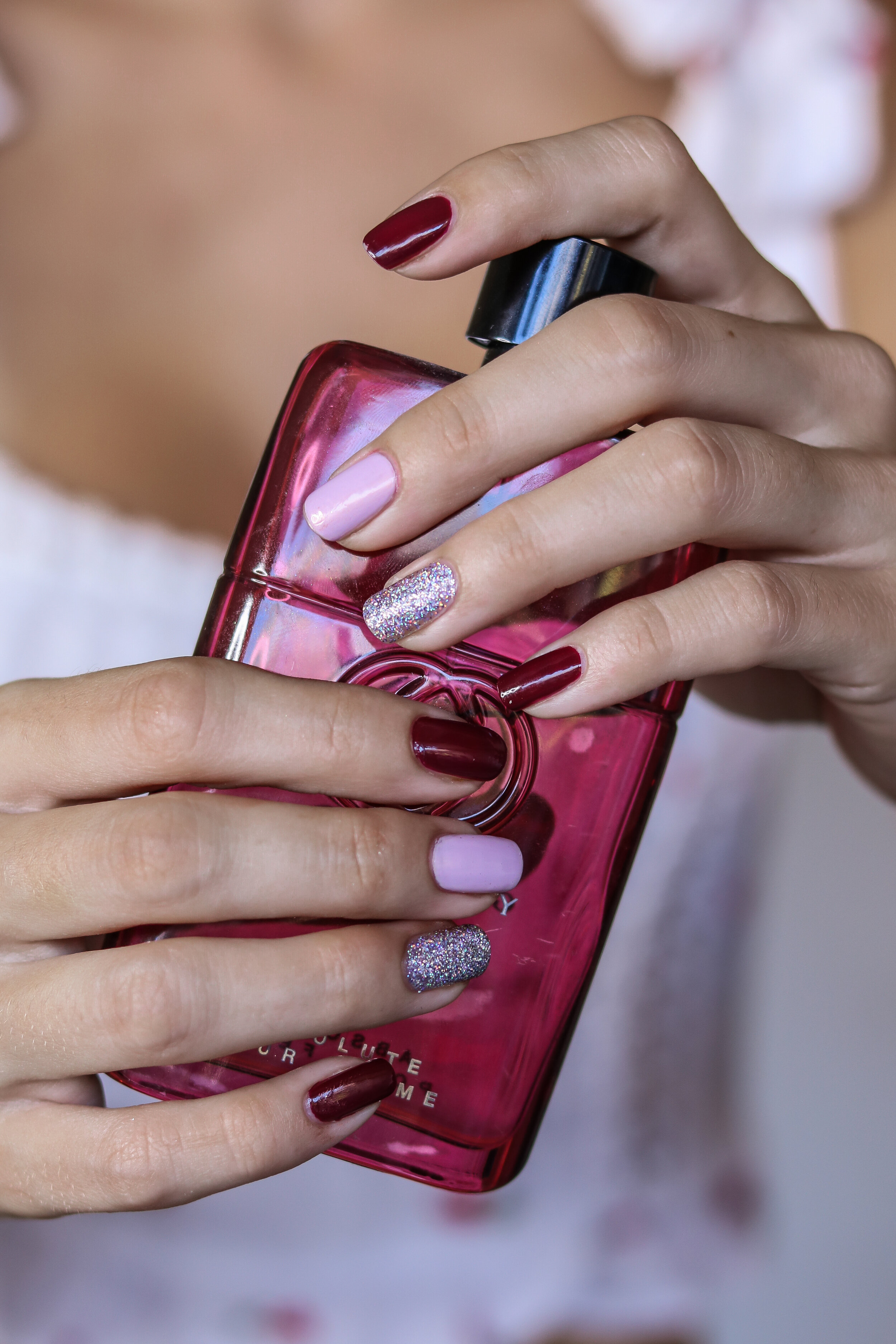 The Hungarian Brunette pink burgundy and holo nails (7 of 9).jpg
