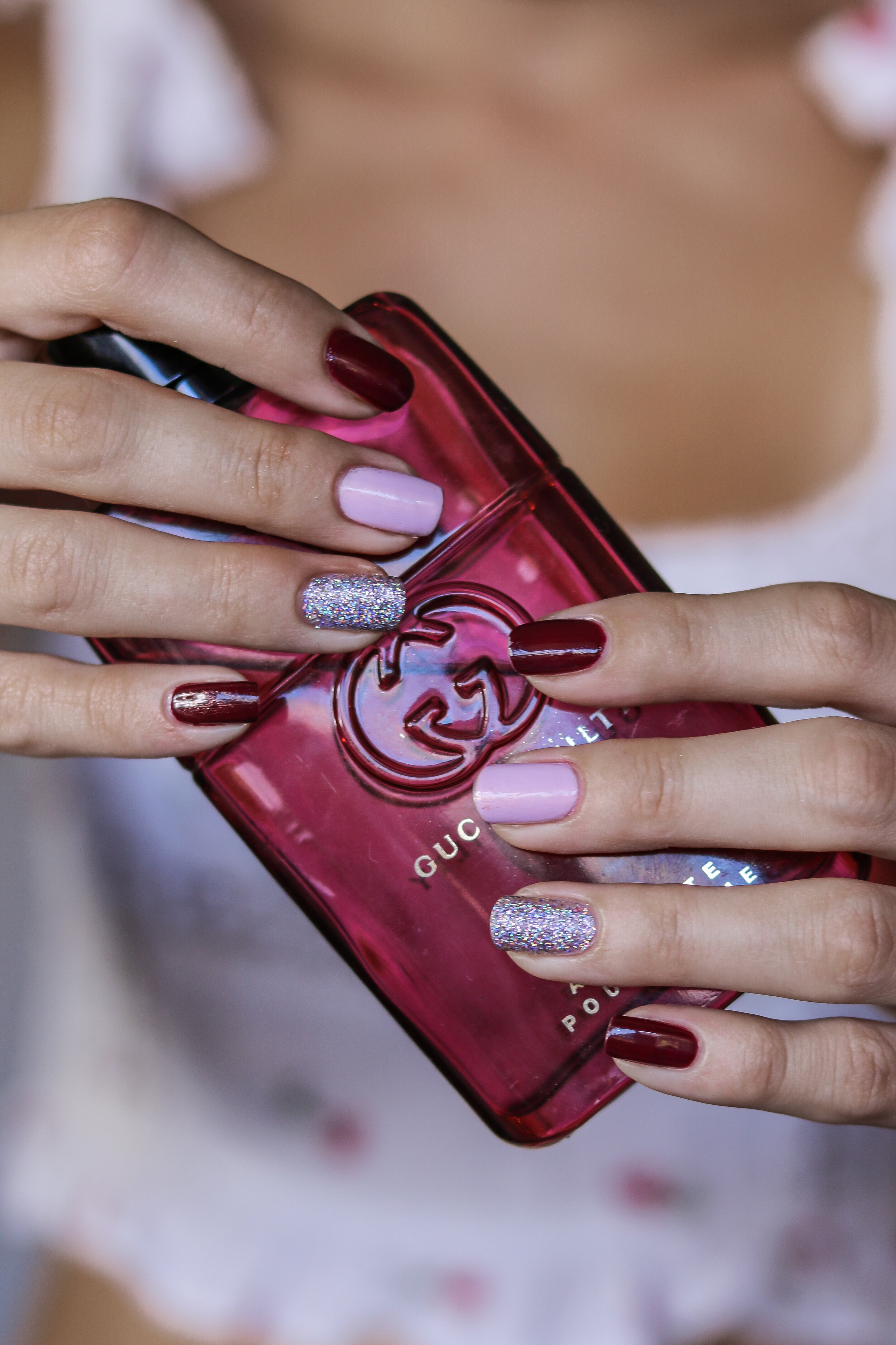 The Hungarian Brunette pink burgundy and holo nails (4 of 9).jpg