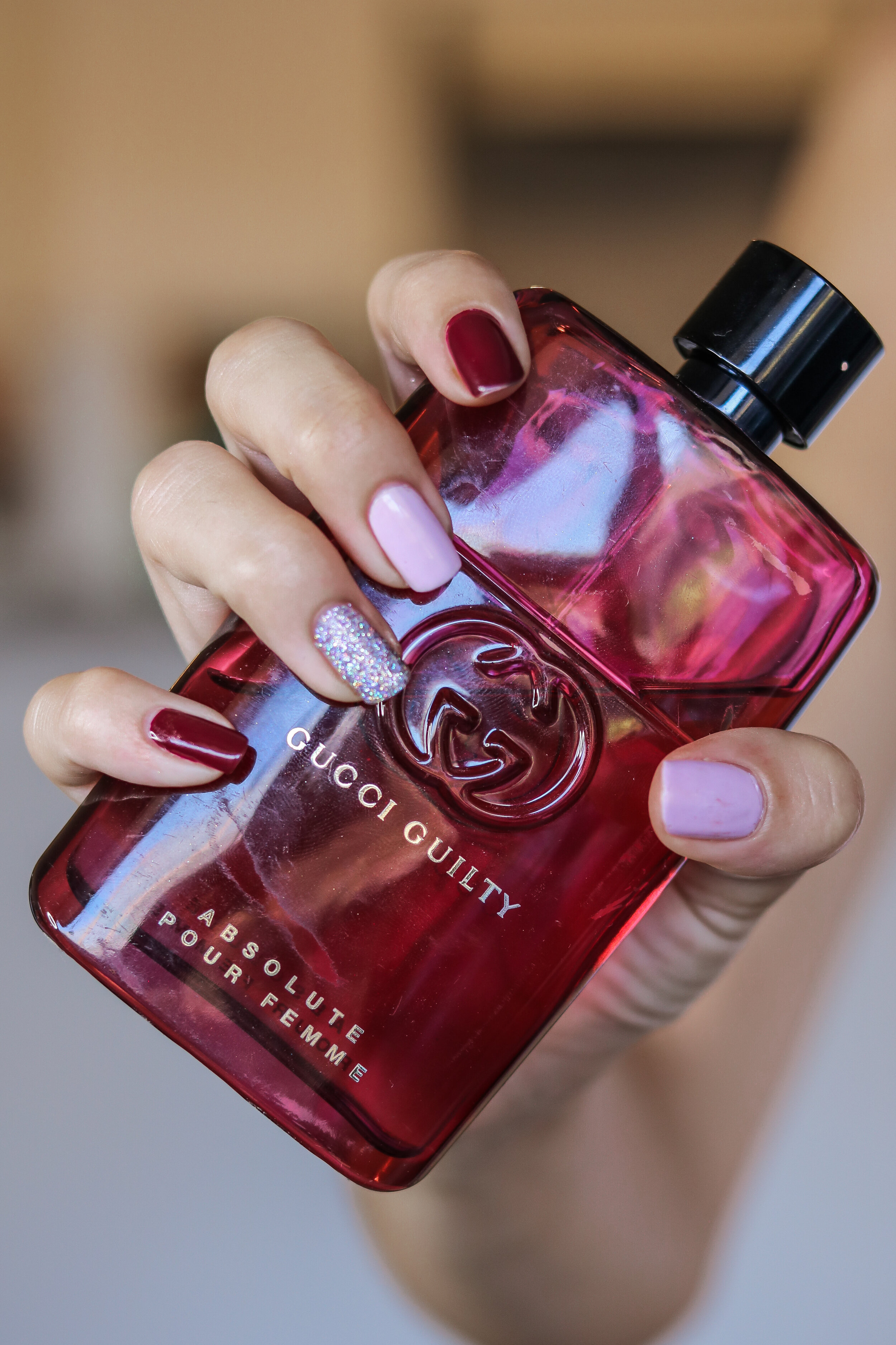 The Hungarian Brunette pink burgundy and holo nails (8 of 9).jpg
