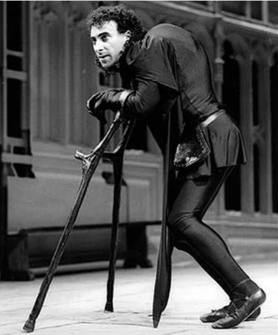 Sir Antony Sher as Richard III