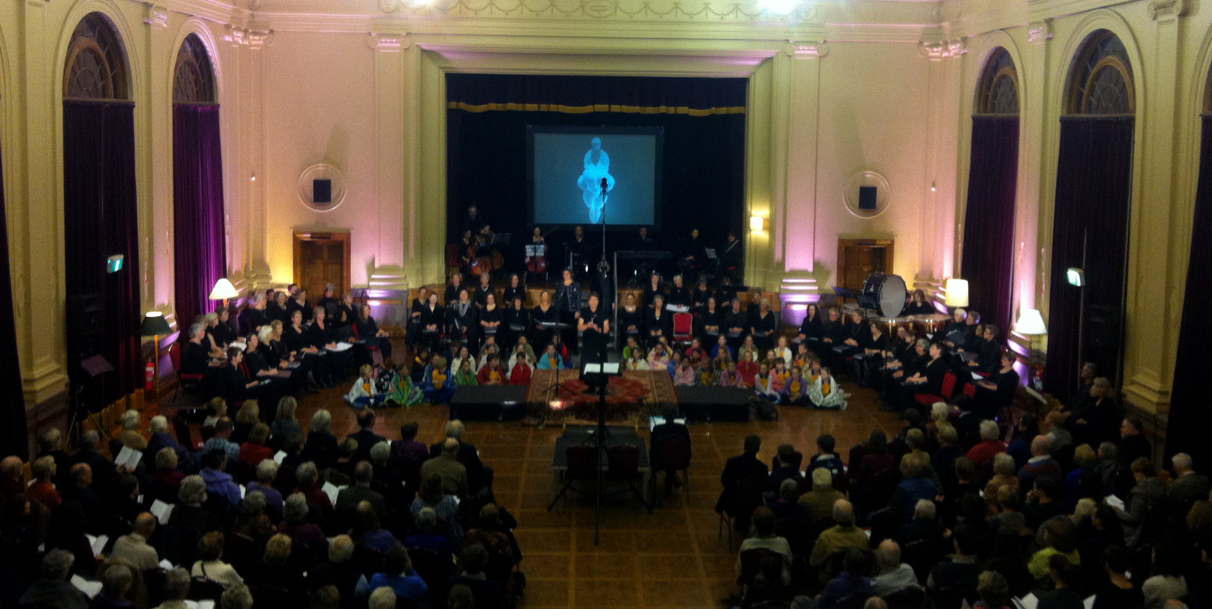 Co-director for  A Passion for Peace , Albert Hall, Canberra 2014