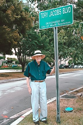 Tory Jacobs Blvd. - Located on SE 25th Road named in honor of Tory Jacobs in November 2009.
