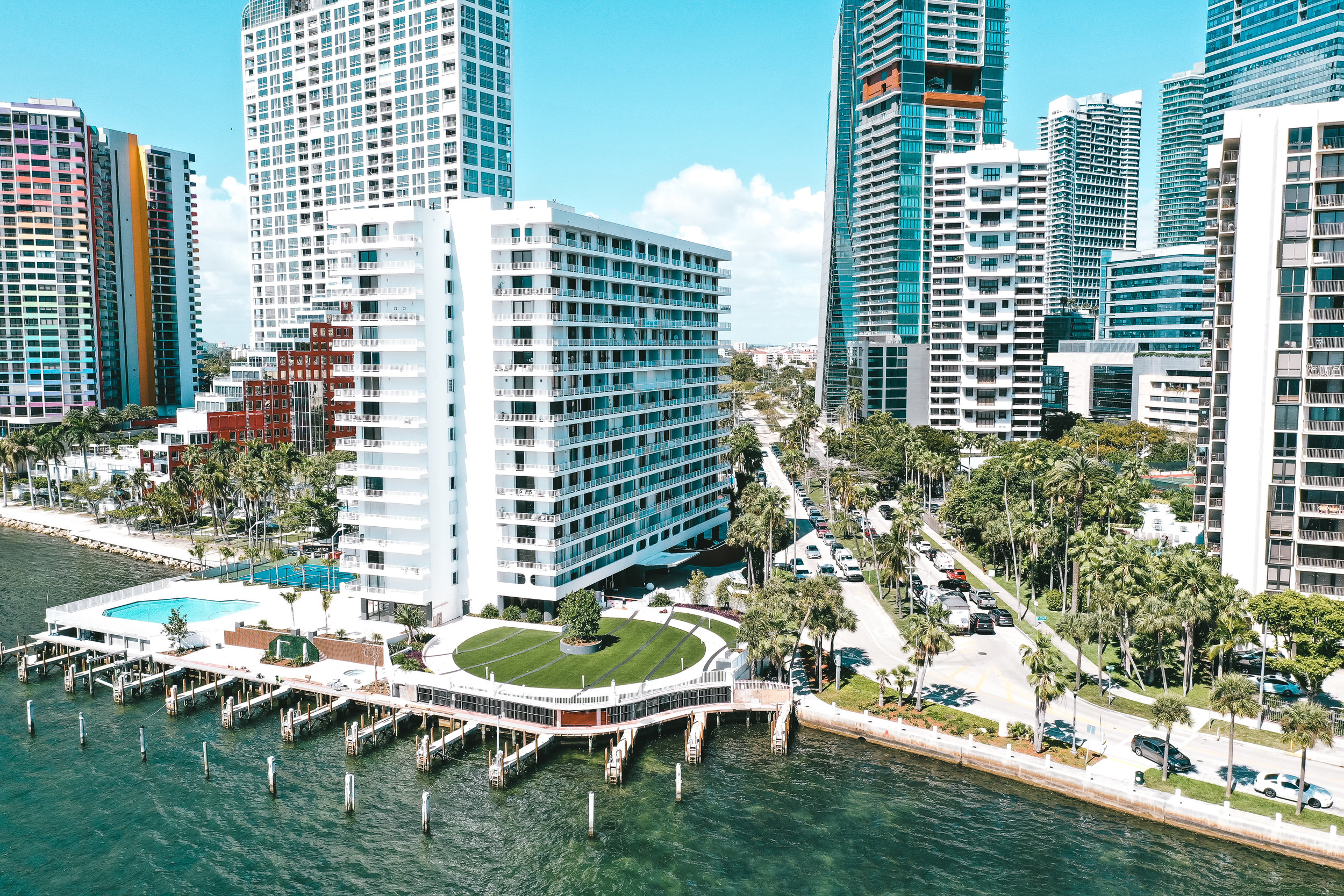 Brickell Harbour - Address: 200 SE 15th Road, Miami, FL 33129Number of Units: 161Info: Elizabeth Smith