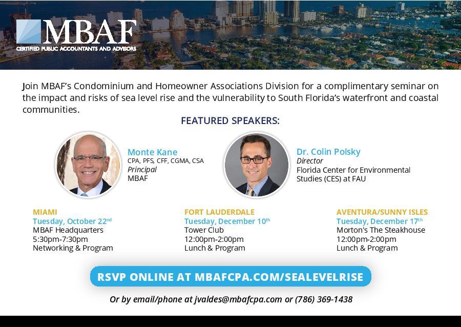 MBAF Headquarters located at 1450 Brickell Avenue, 14th Floor, Miami, FL 33131 .