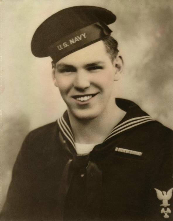 James Bronson, MoMM1, LST-325, 1943-1945