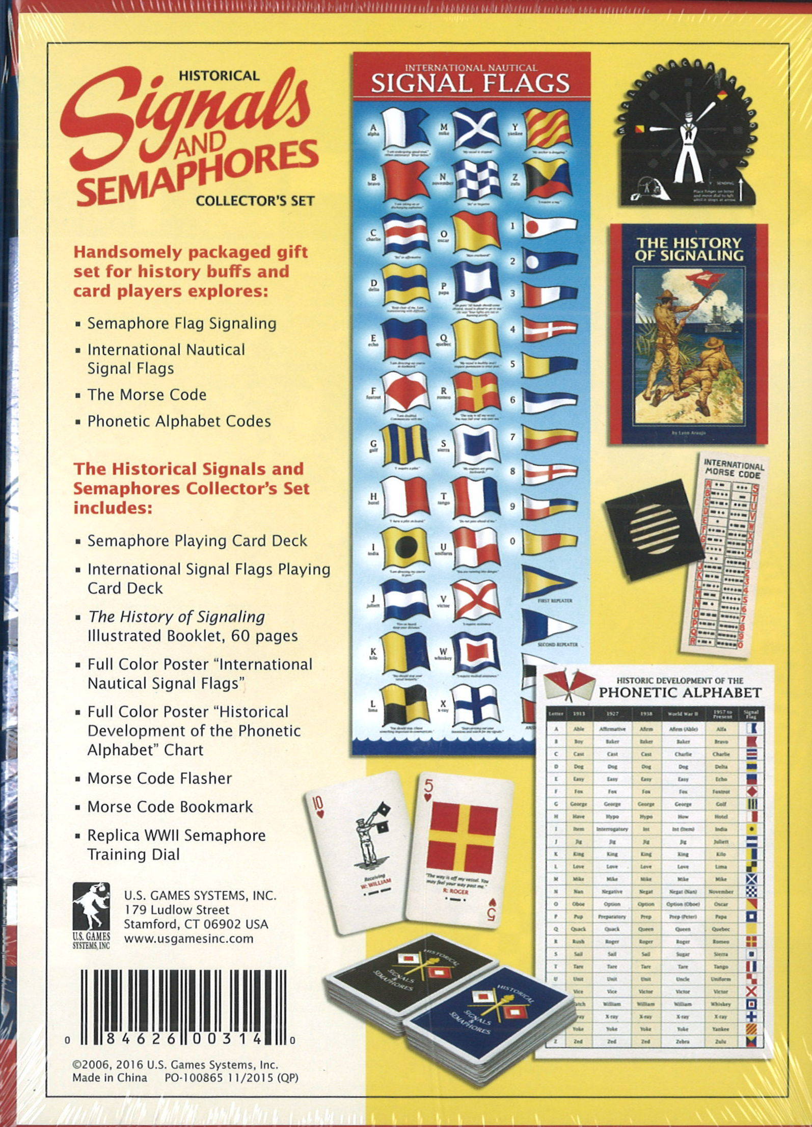 Signal Flag And Semaphore Kit Uss Lst Memorial