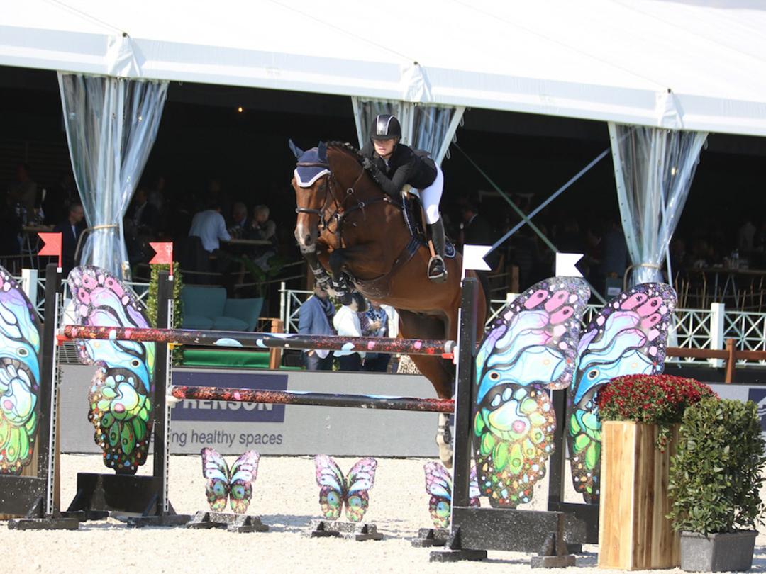 Jenn Gates and Monaco at Waregem Horse Week. Photo by Martine Tandt Photography.