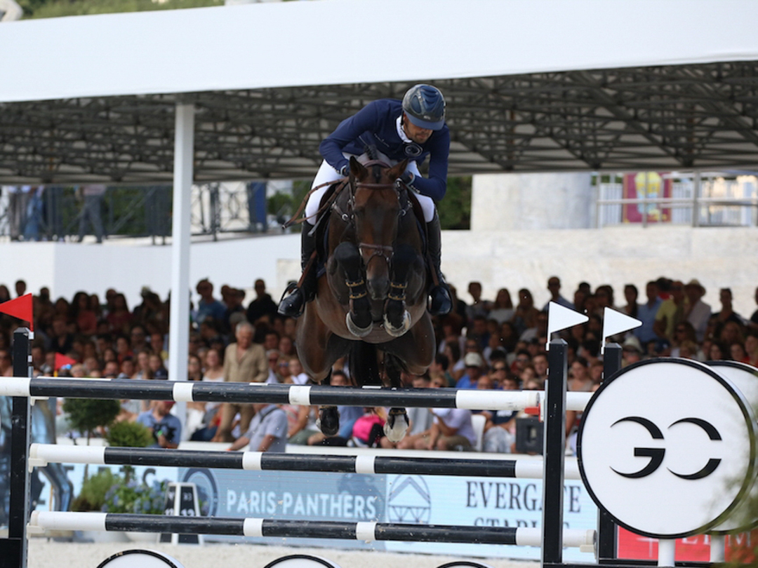 Nayel Nassar and Lucifer V at GCL Rome. Photo by Stefano Grasso.