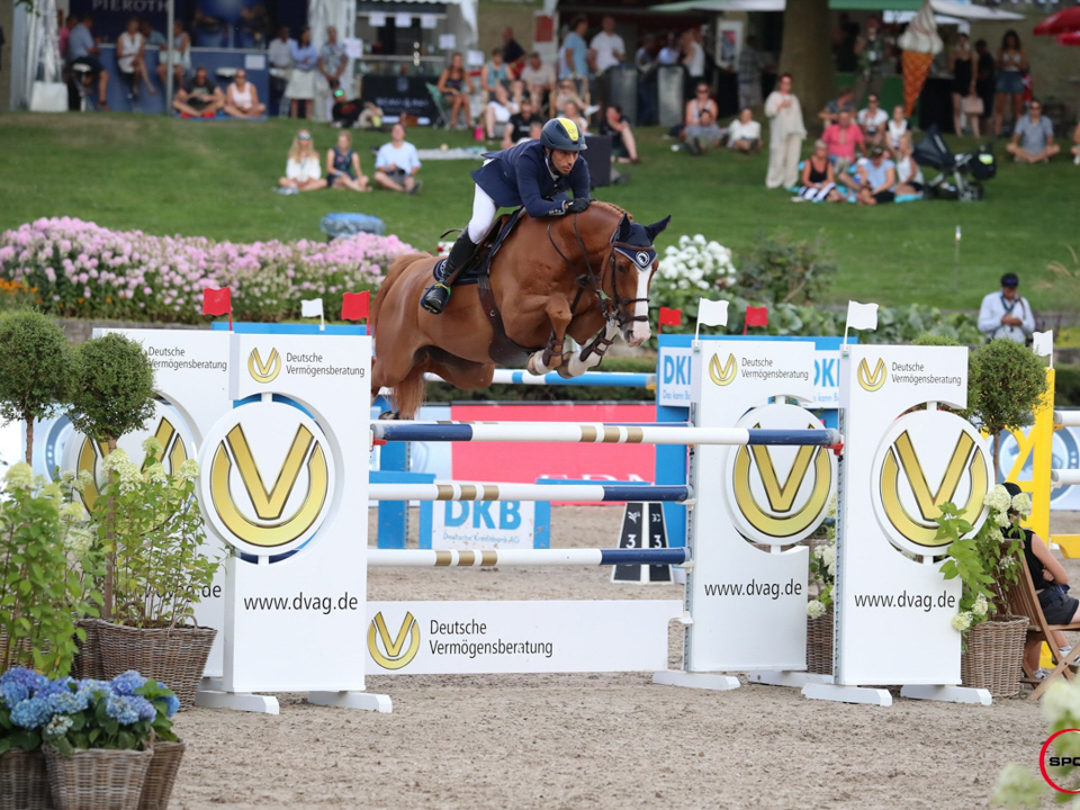 Yuri Mansur and Inferno at GCL Berlin. Photo by Sportfot.