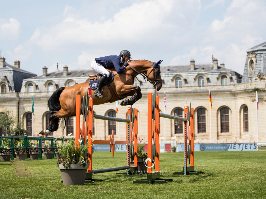 Gregory Wathelet and Qualido at GCL Chantilly. Photo by Ashley Neuhof Photography.