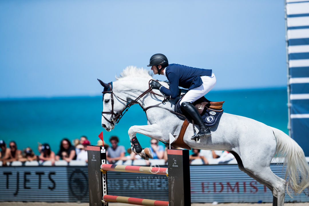 Gregory Wathelet and Coree at GCL Miami. Photo by Ashley Neuhof Photography.