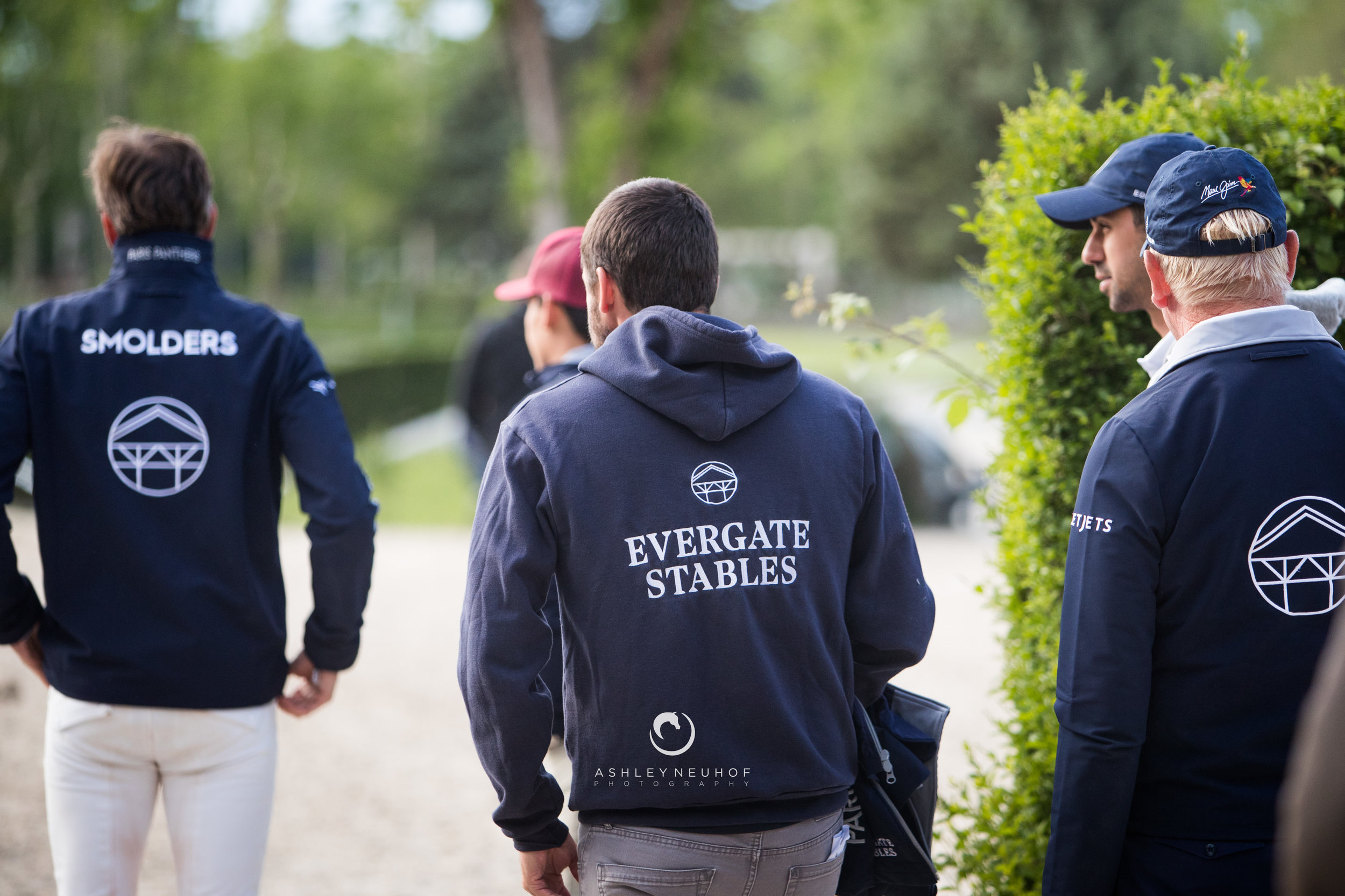 Team Evergate Stables Team at Longines Global Champions Tour of Madrid 2019. Photo by Ashley Neuhof Photography.