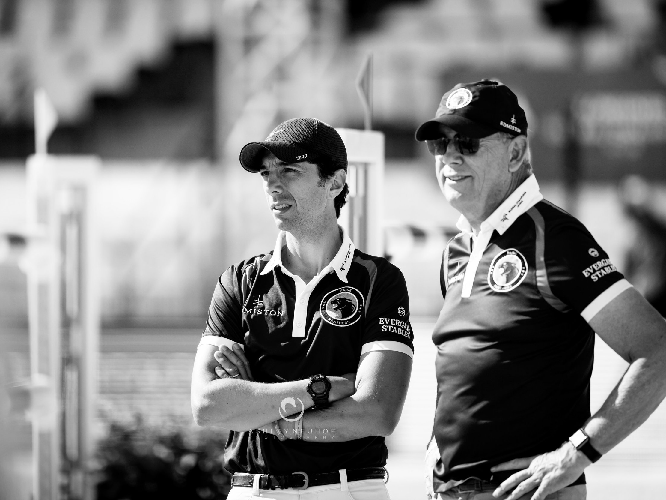 Yuri Mansur and Rob Hoekstra at Global Champions League of Cannes 2019. Photo by Ashley Neuhof Photography.