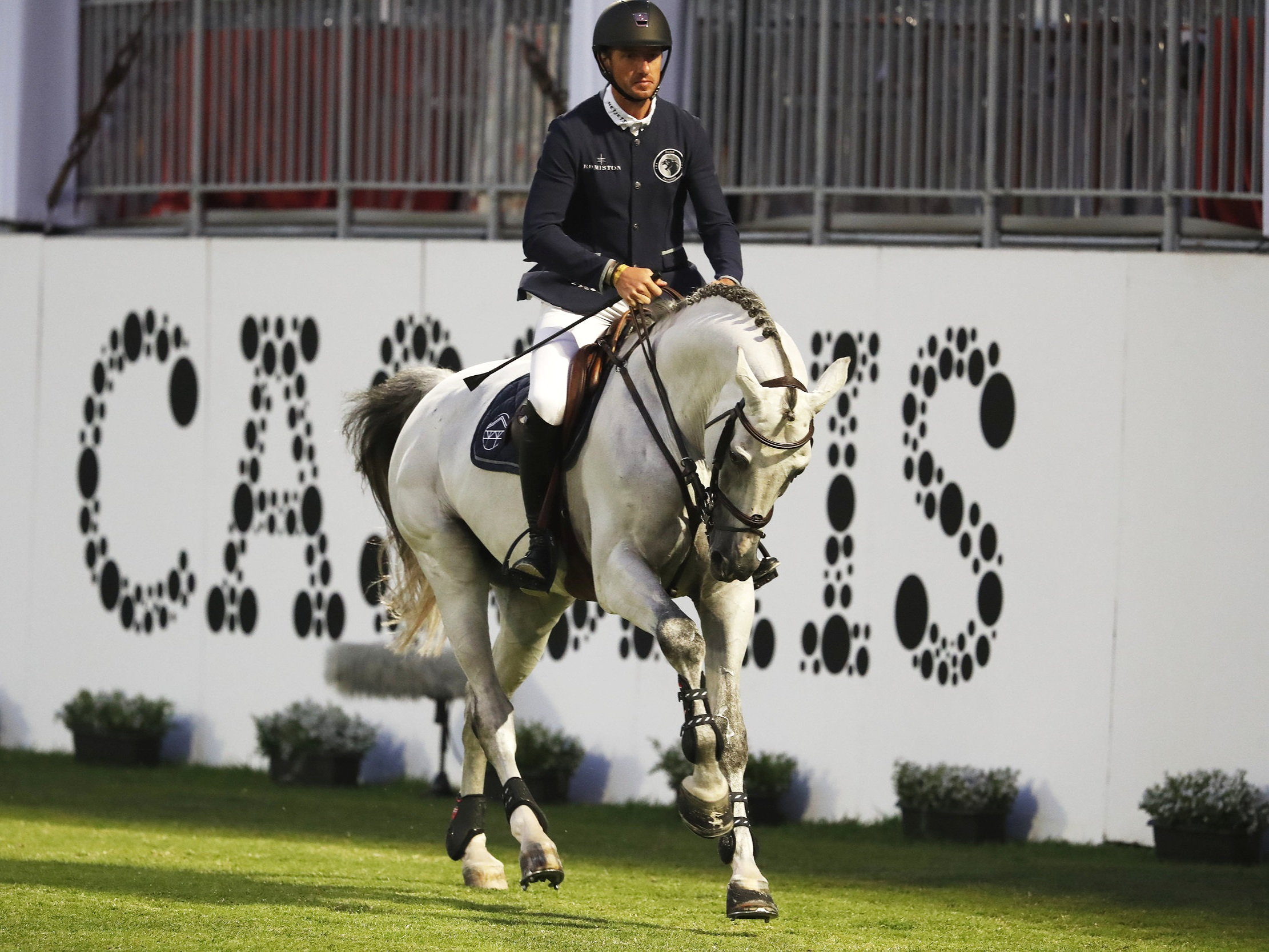 Gregory Wathelet and Mjt Nevados S at Global Champions League of Cascais 2019. Photo by Stefano Grasso.
