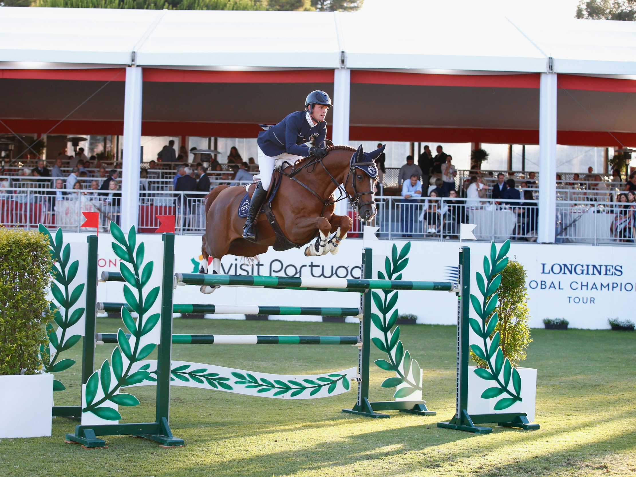 Darragh Kenny and Classic Dream at Global Champions League of Cascais 2019. Photo by Stefano Grasso.