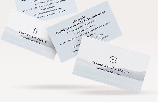 Business cards for Claire Bayles Realty ⚡️ ⠀⠀ ————— ⠀⠀ #graphicdesign #businesscards #moocards #dailydoseofpaper #katherinejezekdesign #stationerydesign #custombusinesscards #branding #brand #brandidentity #identitydesign #designer #brandidentitydesign #designinspiration #darlingdaily #myeverydaymagic