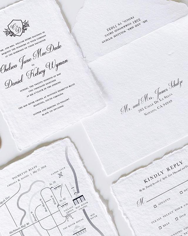 For the most gorgeous wedding at Palmetto Bluff ✨ ⠀⠀ ————— ⠀⠀ #ragpapeterie #katherinejezekdesign #weddinginvites #fortheloveofpaper #dailydoseofpaper #stationerylove #handmadepaper #weddingpaper #paperlove #paperie #stationerydesign #weddinginvitations #calledtobecreative #weddingstationery #waxsealstamp #waxseal #waxseals #artisaire