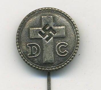 Deutsche Christen Pin   (German Christian Pin) (Source:  Gentleman's Military Interest Club)