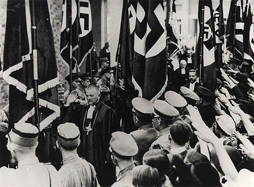 Reich Bishop Ludwig Müller, Berlin, 1934   (Photo source:  Gedenkstätte Deutscher Widerstand )