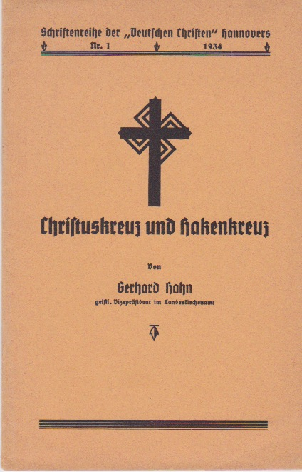 The Cross of Christ and the Swastika-Gerhard Hahn (BOOK)