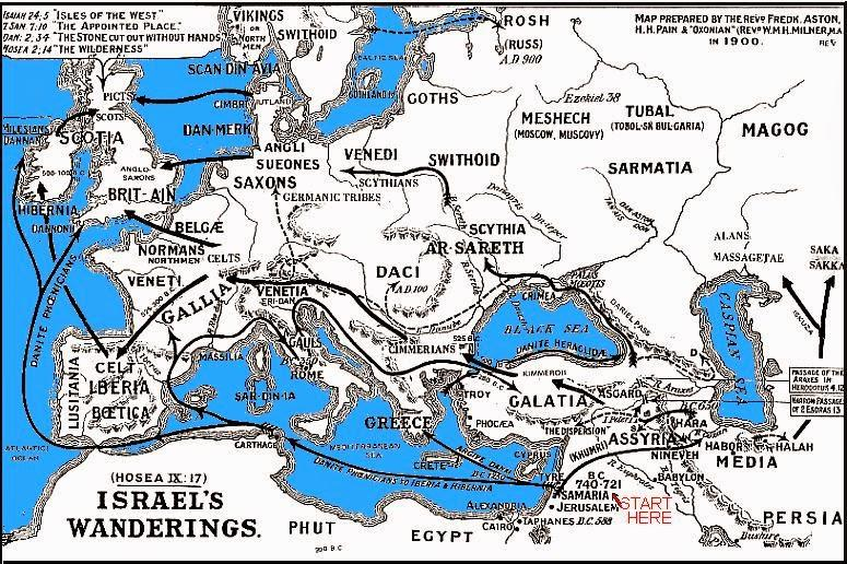 12 TRIBES OF JACOB-ISRAEL — Aryan Nations on