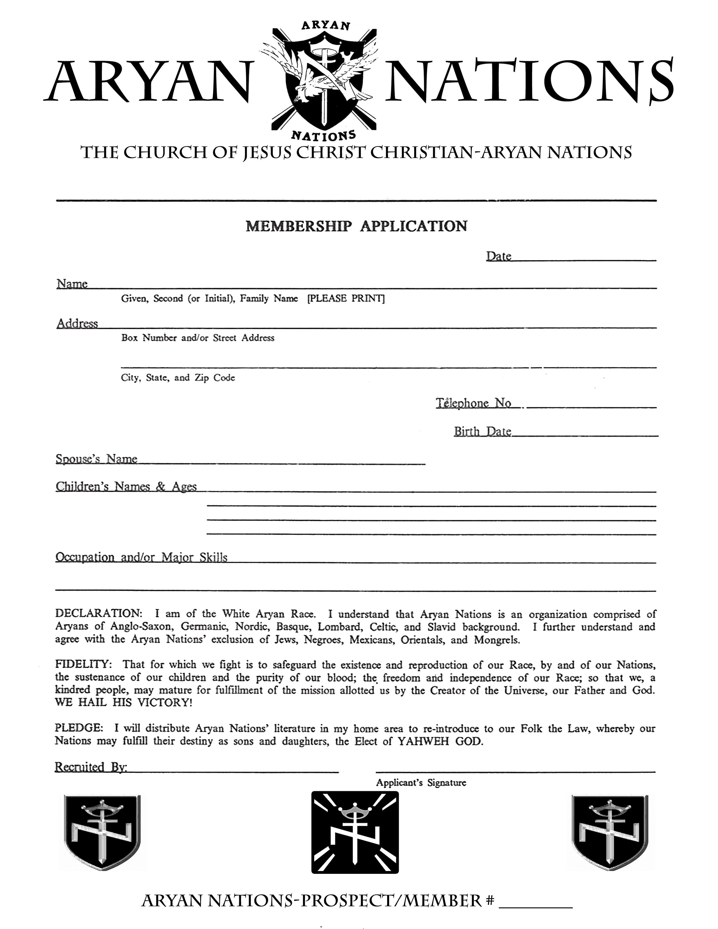 Arizona Aryan Nations Application.png