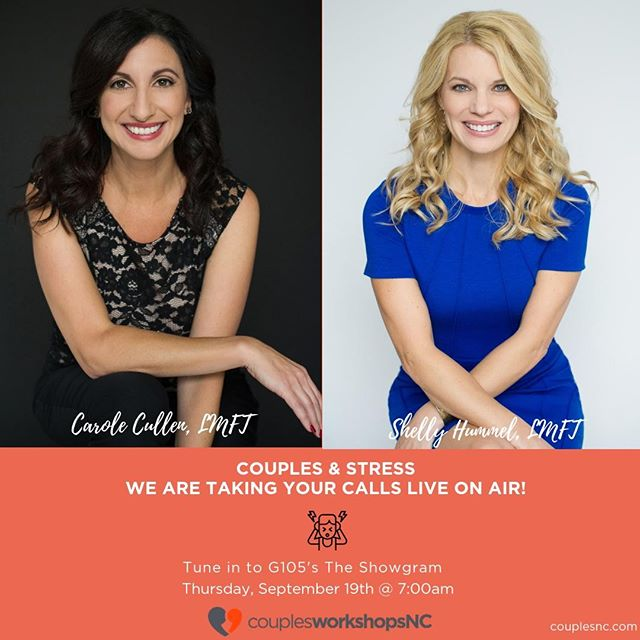 Listen to @g105showgram on Thursday, Sept 19th @ 7am. We will be taking live calls & giving advice on all things couples!! https://buff.ly/30pFhsy