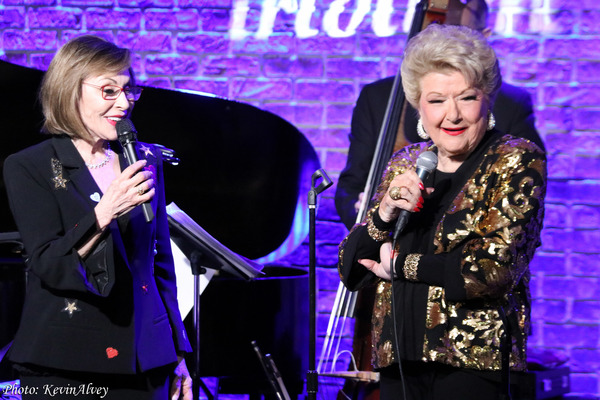 "Ellen Hart was a guest performer in Marilyn Maye's Valentine's week engagement show ""Always From the Heart"" at Iridium. (2019)"