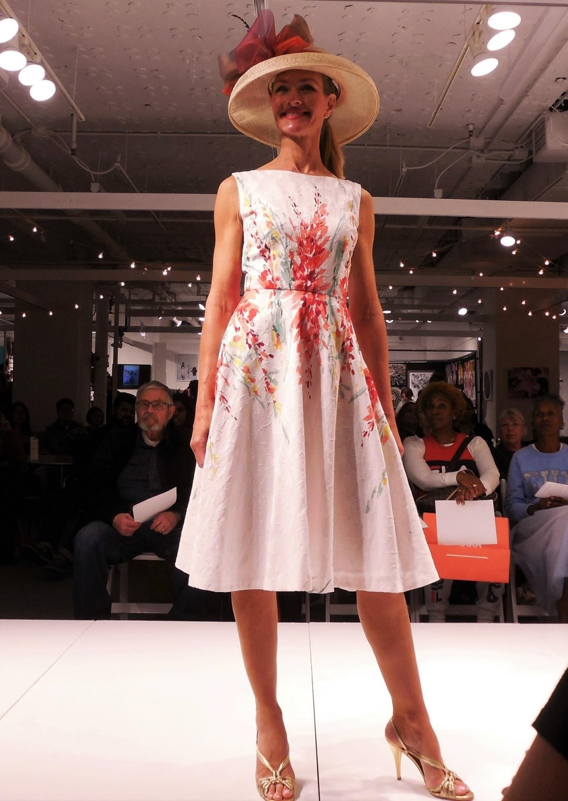 The Glad Dress by Anikka Becker on the runway.
