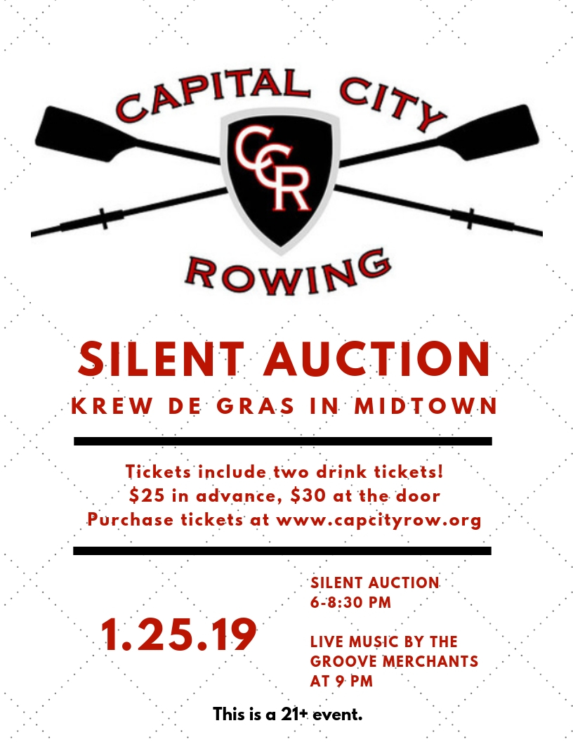 Come support CCR and enjoy a silent auction and live music! - Purchase tickets HEREWould you like to donate to the silent auction? Please contact Josh Baker at josh.baker@capcityrow.orgAll donations are tax deductible!