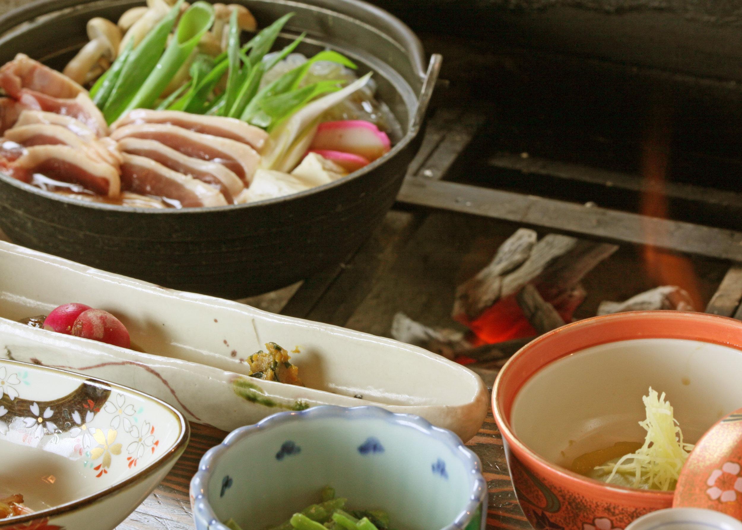 山のご馳走 - Dining