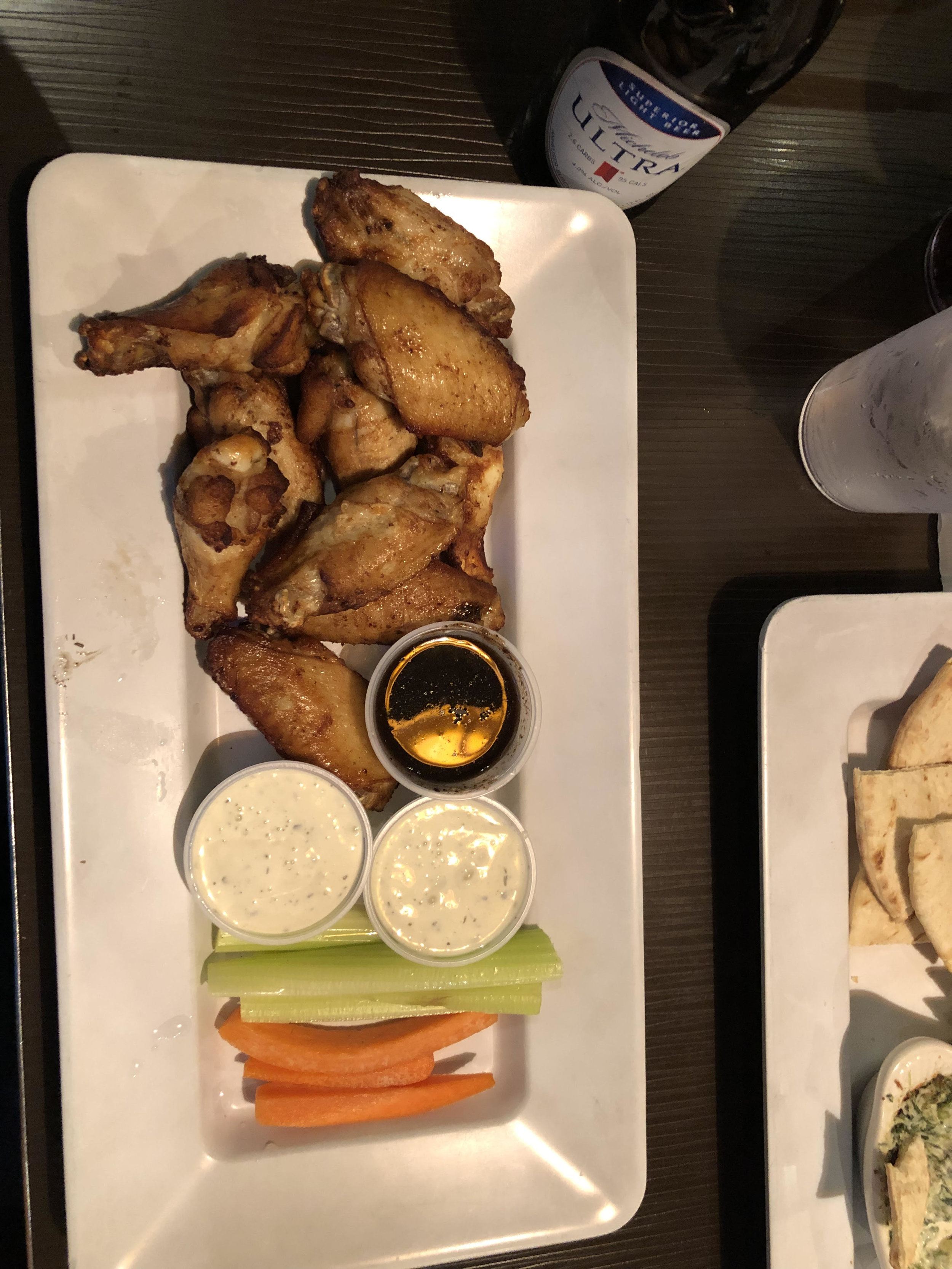 10 Traditional Wing's Naked (No Sauce) $8.99 +Tax