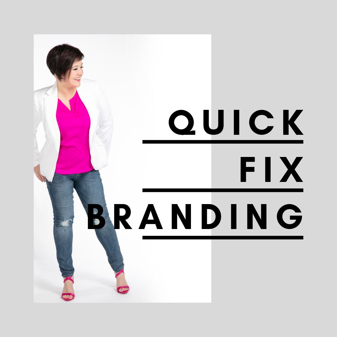 Quick FIx Branding With Ali Craig