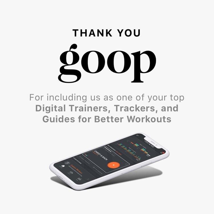 Featured in Goop