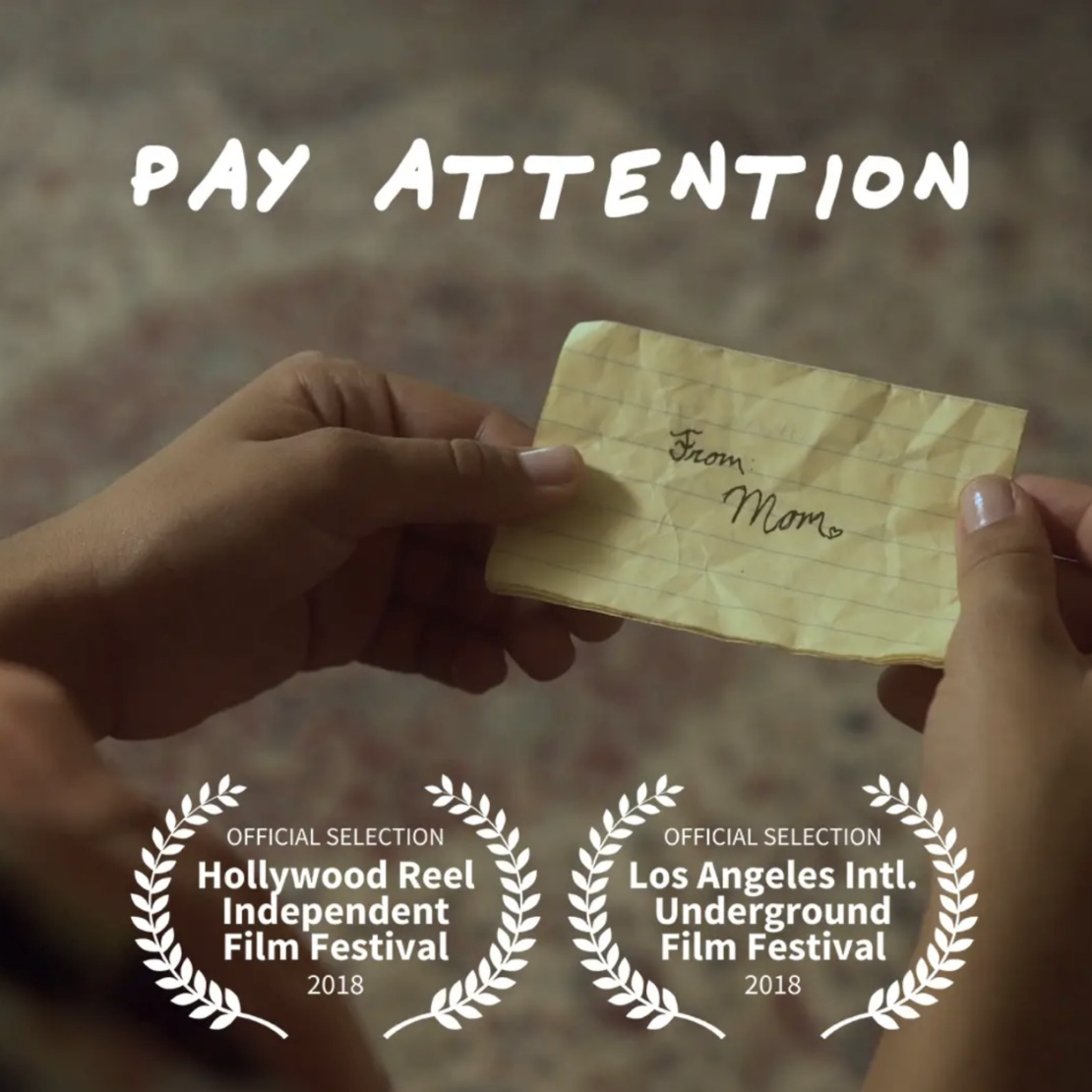 Pay Attention (2018) - Three siblings come home and find an alarming note from their parents.Watch on Vimeo ➝