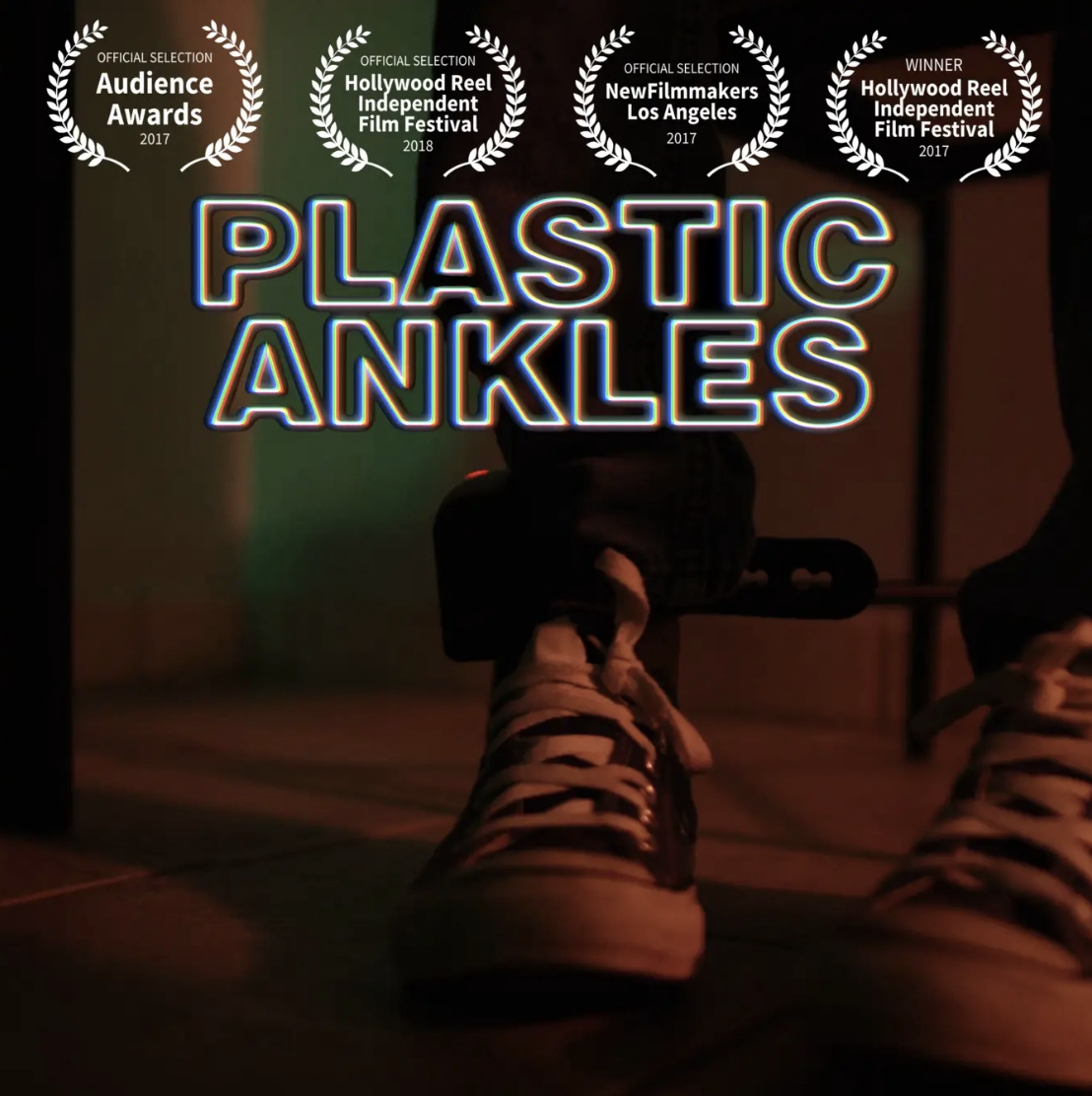 Plastic Ankles (2017) - 'Plastic Ankles' is the day in the life story of Marlon, an innocent man who is wrongfully found guilty for a crime he did not commit. He faces his introspective battles, unclear memories and imaginary friends who help his grasp his lonely situation.Watch on Vimeo ➝
