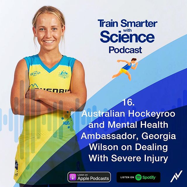 Had the absolute pleasure of being a guest member on the @trainsmarterwithsciencepodcast.   For anyone struggling dealing with sports injuries or poor mental health, I'd love for you to have a listen and adopt some of the most crucial techniques I've learnt from playing elite sport.   To listen to this episode click on the link in my bio or search 'Train Smarter with Science' on Apple and Spotify. 🎧📻
