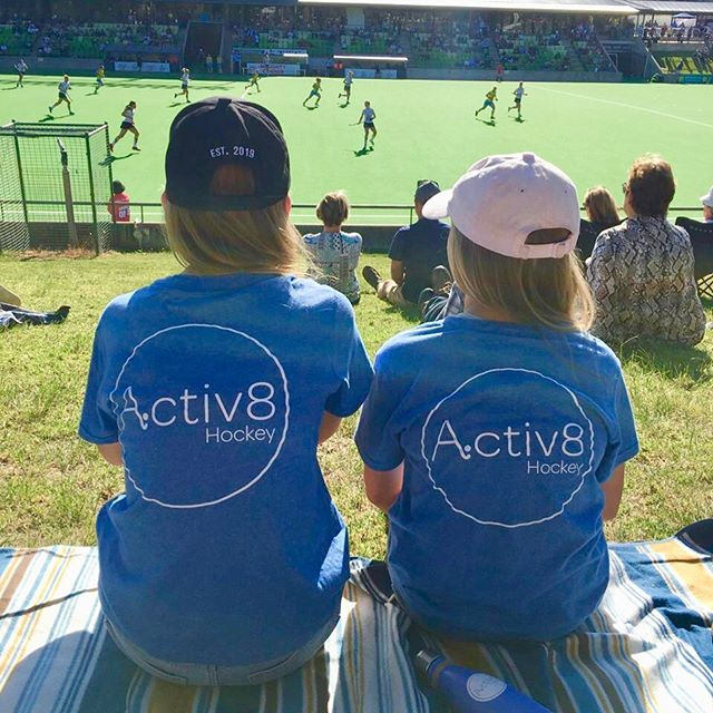 Spotted at today's @h1league game in Perth! Biting our nails as the @thundersticksh1 women's team prepare to go to shoot outs! 🤐🙏🏼🏑