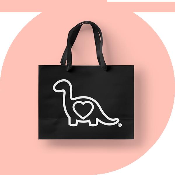 Glamosaurus - The Work: Creative Direction, Graphic Design, Photo + Video, E-Commerce Management, Social Media Marketing. Wholesale + Tradeshows