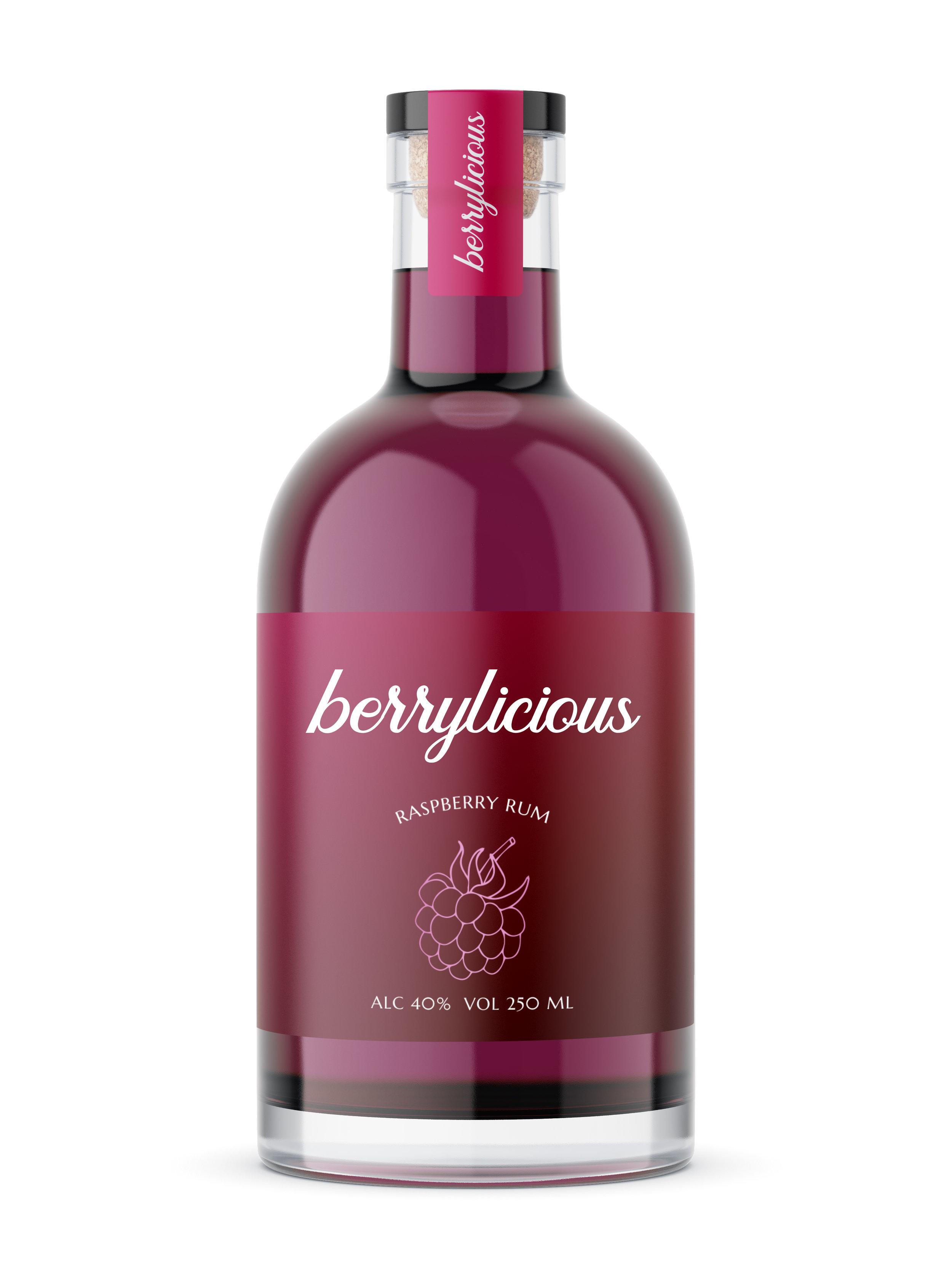 Berrylicious Raspberry Rum